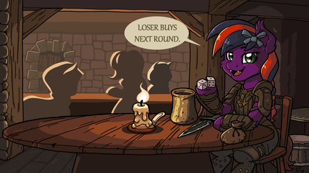 Loser Buys Next Round - Commission by LateCustomer