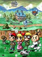 Mother 2 by Iceland-Ink