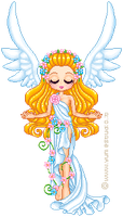 Spring angel by angychan