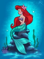 Ariel Sketch:color by DylanBonner