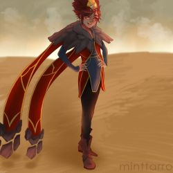 Taliyah from League of Legends by minttarro