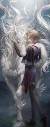 Prince and Unicorn - Remake by JaneMere