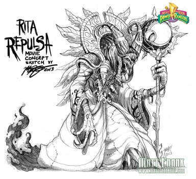 Rita Repulsa movie concept by KaijuSamurai