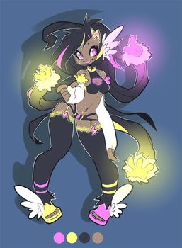 Space warrior adopt (Auction - closed) by Piko-ka