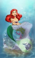 Ariel, colored by xryss