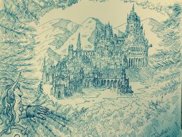 Gondolin.....at  last. by DracarysDrekkar7