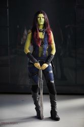 Gamora - Guardians of the galaxy by LaynesLionRedCat