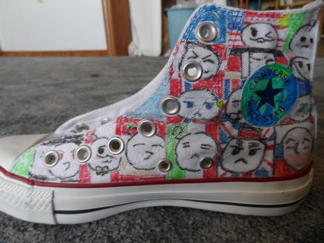 Hetalia Chucks 6 by EmilyTrancy