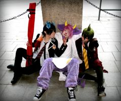 Ao No Exorcist - Rin, Ukobach, Amaimon - Touch me by K-I-M-I