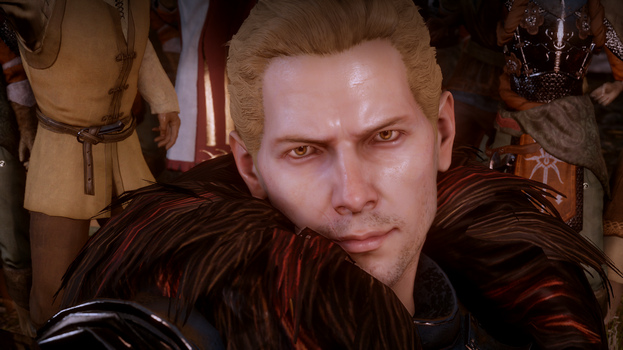 DAI Screens: Cullen Smoldering Eyes by KyndredRaven