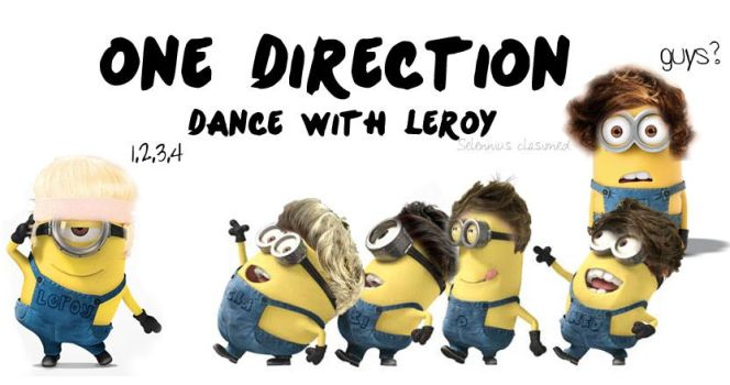 MINIONS ONE DIRECTION BY SELENNIUS CLASIONED by Maylennius