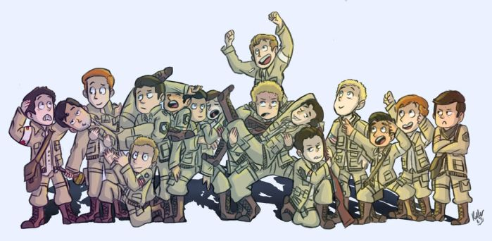 Band of Brothers by transformersluna
