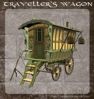 3D Travellers Wagon by zememz