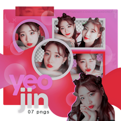 PNG PACK #08 | YEOJIN X DISPATCH (LOONA) by oneandonlyyu