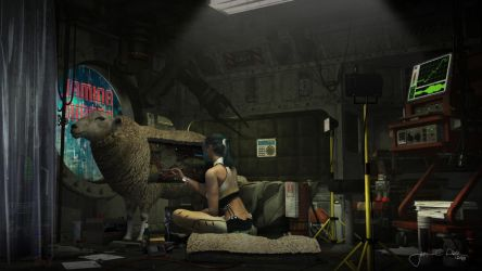 Electric Sheep (Animal Repair) by JacobCharlesDietz