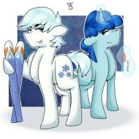 Double Diamonand Party Favor by Moonbow-Art