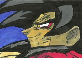 Goku ss4 by TheMagicUnderpants