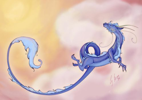 dragon by Hiver-Nucleaire