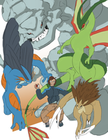 Ground Type Gym Leader by SpottedAlienMonster