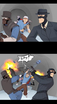 SPY by BIazeRod