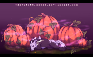 The Pumpkin Patch | Finished YCH by TheJokingJester