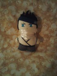 Zabuza Mini Plushie by snowtigra