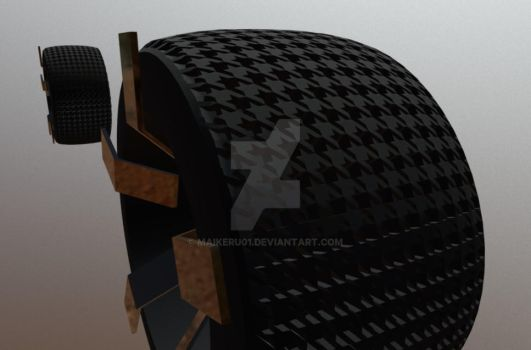 Houndstooth tires by maikeru01
