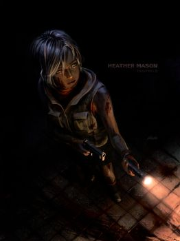 Heather Mason - Silent Hill 3 by yoshiyaki