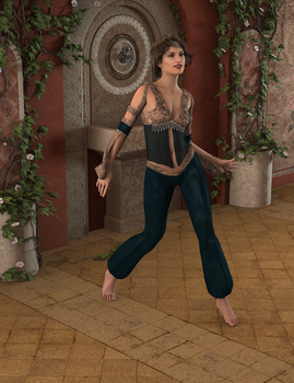 Barefoot Dancer by Snake-fan-Solid