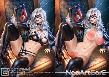 Black Cat_nsfw by NeoArtCorE