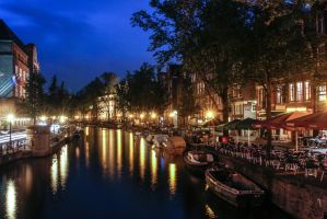 Night life on the canal by BusterBrownBB