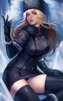 Street Fighter 5 - Kolin by phamoz