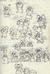 Hamtaro gang! by VotrePoison
