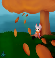 Watching the leaves fall by Le-Luna-Productions