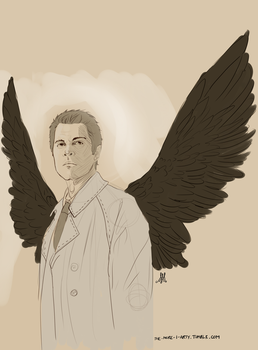 Castiel by Sombrewood