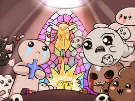 The Binding of Isaac - Rebirth by keterok
