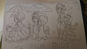 The Rain buds by justarandomfruit