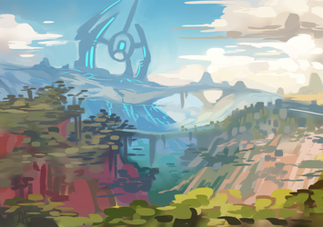 Ark Valley by 3-X-E