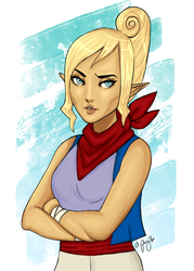 Tetra - High Seas Pirate by Miss-Excentrique