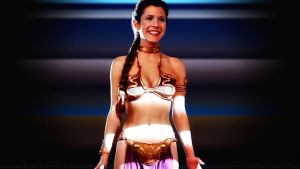 Carrie Fisher Slave Girl Princess XIV by Dave-Daring
