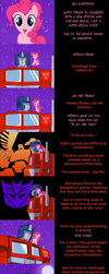 Pinkie Pie Says Goodnight: Prime Time by MLP-Silver-Quill