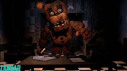 Spicy Withered Freddy for Dje and Coolio by ZanbarSFM