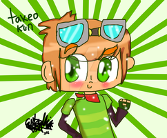 :kiriban o art trade: takeo kun by migetrina4ver2018