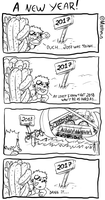 To a new year! by MSMoura