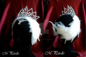 Swan Lake ballet - Odette headpiece by arcticorset