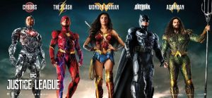 Official Justice League Banner Poster by Artlover67