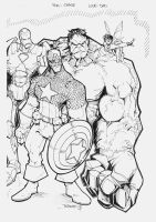 Avengers for Chase the Final by rantz