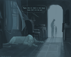 no ghosts in this house by GreekCeltic