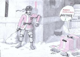 Metal Gear Christmas, Brother. by Frario