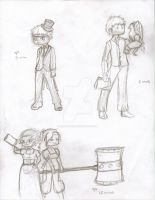 Timed sketches by i-am-t3h-w1n